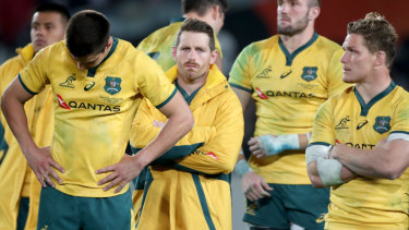 Benched for his birthday: Bernard Foley has lost the No.10 jersey ahead of the Wallabies' clash with South Africa.