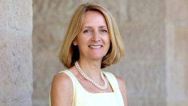 Dr Julie Townsend, headmistress of St Catherine's School, Waverley.