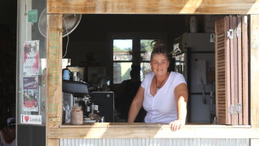 Karen Davis, owner of Teamo coffee shop in Tamworth.