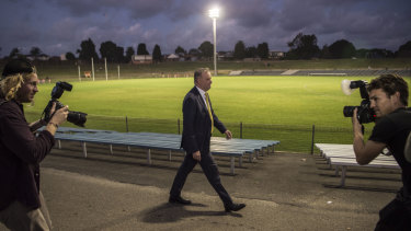 It's a new field ... Anthony Albanese, above, and Scott Morrison both have to define the new ground rules.