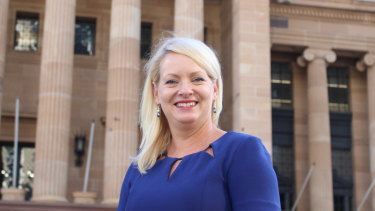 Brisbane's new deputy mayor Krista Adams.