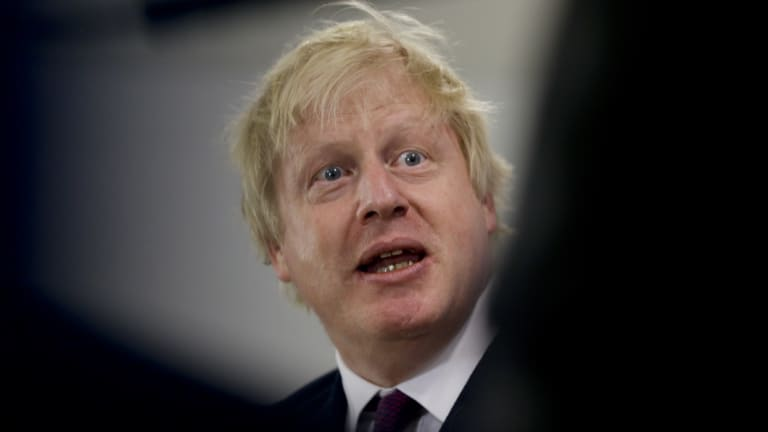 """Former British secretary Boris Johnson has urged the UK government not to adopt a """"Brexit in name only"""" strategy."""