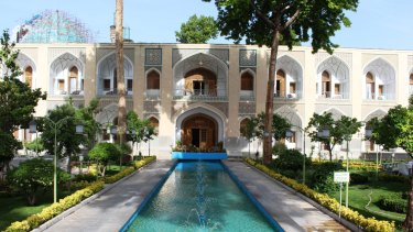 Shah Abassi Hotel in Isfahan.