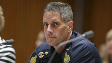 Former Border Force chief Roman Quaedvlieg, who was sacked over allegations of nepotism.
