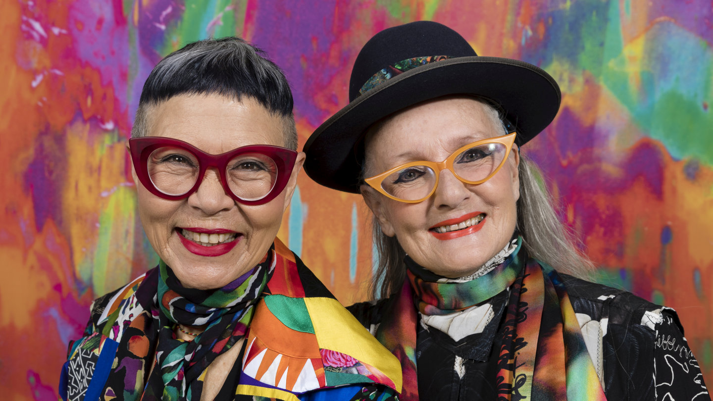 A Colourful Past Jenny Kee And Linda Jackson