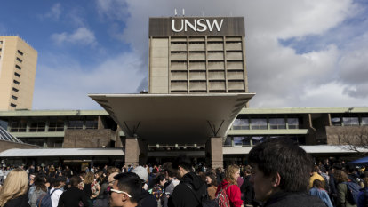 The UNSW campus in Sydney.