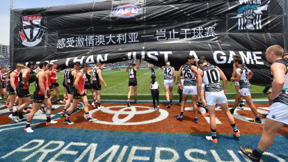 AFL to sit tight as coronavirus raises questions over match in China