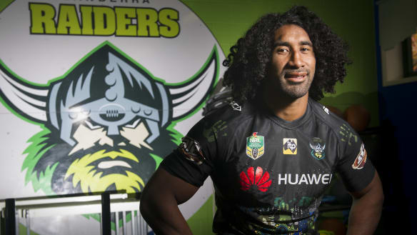 Sia Soliola emerges as Canberra Raiders' prop prototype