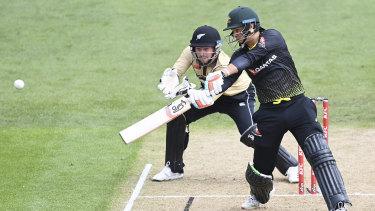 Josh Philippe made 45 off 32 balls in Australia's four-run loss to New Zealand.