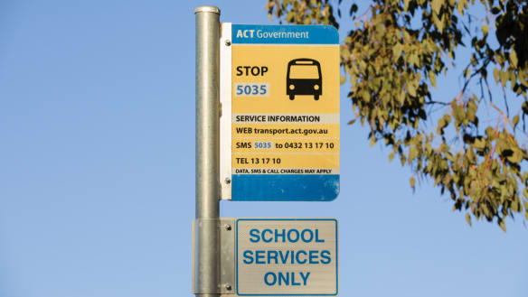 ACT government to back down on school bus cuts