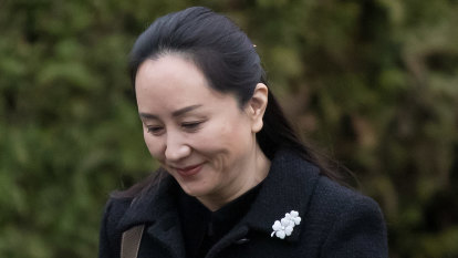 Huawei executive Meng Wanzhou arrives for extradition hearing in Canada