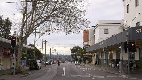 Campsie in Sydney's south-west is under strict lockdown.