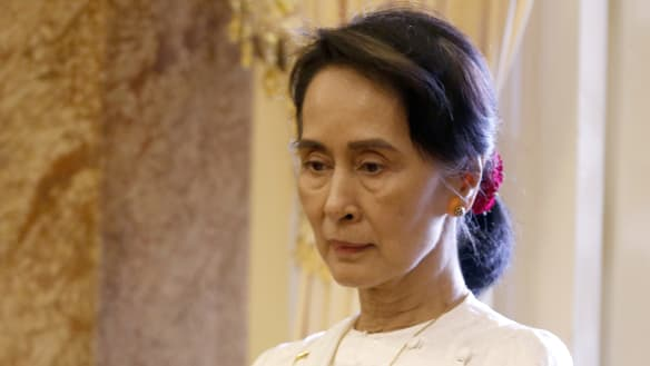 Aung San Suu Kyi's comments spark rebuke from US