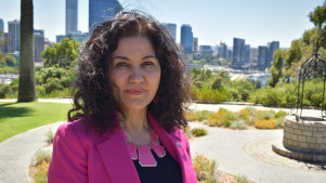 Uyghur human rights activist Rushan Abbas is in Australia to raise the alarm on the incarceration of millions of her people in China's Xinjiangregion.