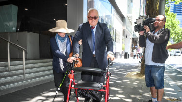 Dr Con Kyriacou leaving court last month.