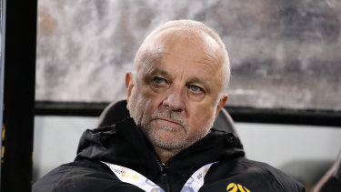 Graham Arnold oversaw two World Cup qualifier wins for the Socceroos last month.