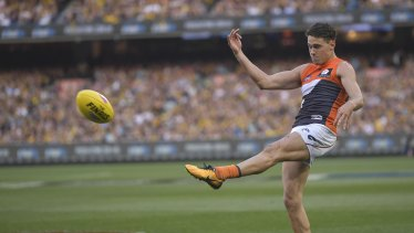 Josh Kelly is in doubt for the Giants' final against Collingwood due to a knee injury.