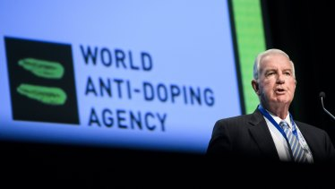 World Anti-Doping Agency president Craig Reedie.