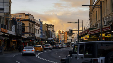 Dozens of cheap eateries on King Street, Newtown were investigated by the Fair Work Ombudsman.