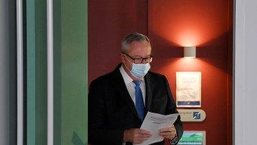 NSW Health Minister Brad Hazzard on Tuesday.
