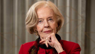Former governor-general Quentin Bryce.