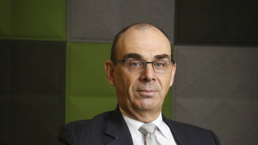 APRA chairman Wayne Byres says now is the time for banks to dip into their capital buffers.