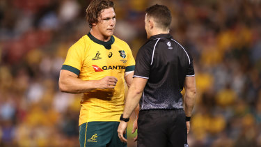 Michael Hooper and the Wallabies could not get past Argentina.