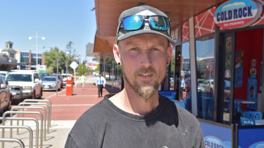 Chris from Clarkson says he's keeping his head above water, but daycare and credit card bills are a struggle.