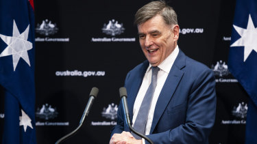 Australia's Chief Medical Officer Brendan Murphy. Australians were quick to heed the advice of health experts.