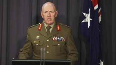 COVID-19 Taskforce Commander, Lieutenant-General John Frewen released the data on Wednesday.