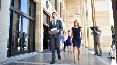 New WA opposition leader Zak Kirkup.