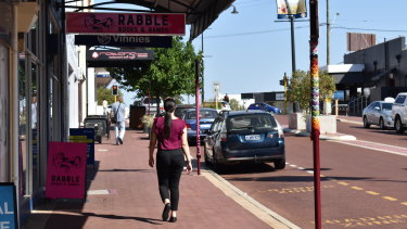 The Maylands strip is one of Perth's emerging shopping strips.