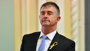 LNP deputy leader Tim Mander called for changes on Saturday.