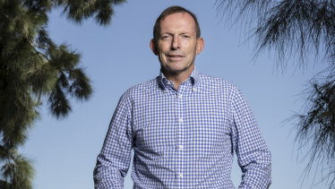Tony Abbott is out on the hustings earlier than usual, battling to save the seat he has held for 25 years.