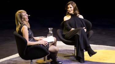 Nigella Lawson at the Sydney Opera House this month.