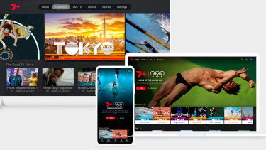 Seven has found a massive audience with its streaming of the Tokyo 2020 Olympic Games on 7plus, but the app is not without its issues.