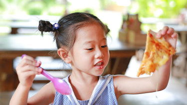 For back-to-basics eating, order off the kids' menu.