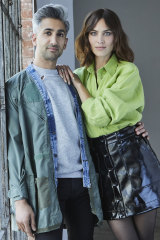Tan France and Alexa Chung are the hosts of Next in Fashion on Netflix.