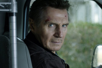 Look who's coming to Melbourne: Liam Neeson in Honest Thief, which was also directed by Mark Williams.