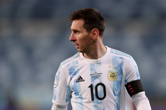 Lionel Messi is out of contract at Barcelona.