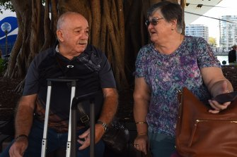Trevor and Julie Spencer will spend the next 14 days in isolation after returning early from their New Zealand cruise.