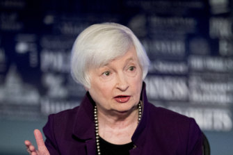 US Treasury Secretary Janet Yellen has called for a minimum global corporate income tax.