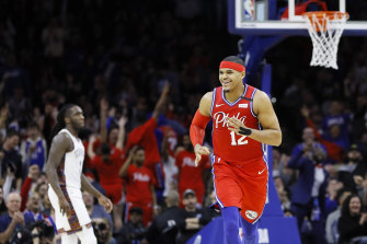 Tobias Harris starred for Philly.