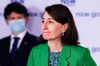 NSW Premier Gladys Berejiklian on Wednesday.