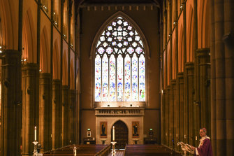 The Catholic Church is divided over the Andrews government's gay conversion bill.