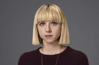 Zoe Kazdan plays Nick's sister Pia.