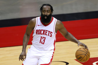 James Harden should be available for the Rockets' rescheduled match.