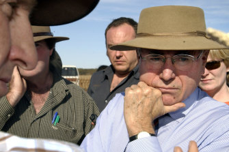 John Howard in 2005.