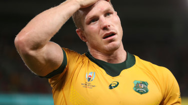 Changes at the breakdown have made it harder for players such as David Pocock to shine in Japan.
