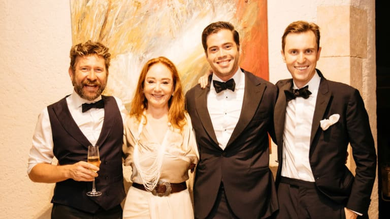 Daimon Downey, Ros Oatley, Ben Buckingham and Bobby Oatley were among the A-listers at the charity gala.